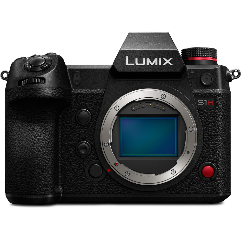 Panasonic Lumix DC-S1H Mirrorless Digital Camera (Body Only)